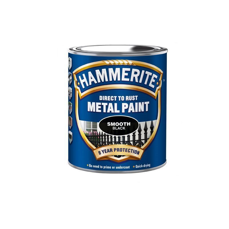 Hammerite Smooth Finish Musta