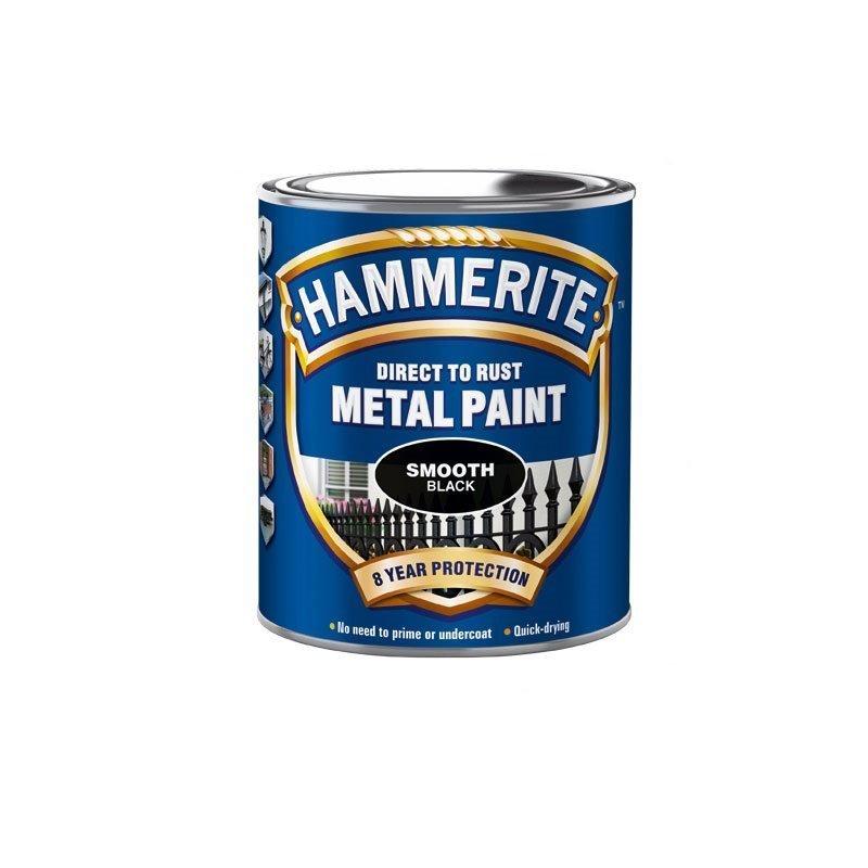 Hammerite Smooth Finish Musta