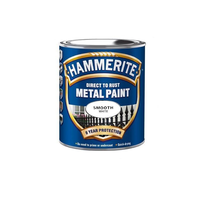 Hammerite Smooth Finish Valkoinen