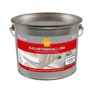 Ilves Kalustemaali L90 Sävytettävä valkoinen