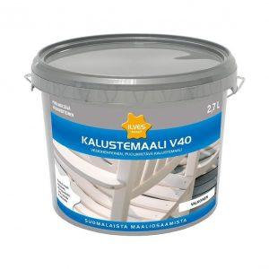 Ilves Kalustemaali V40 Sävytettävä kirkas