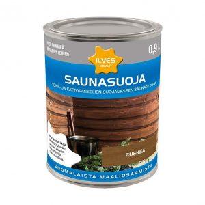 Ilves Saunasuoja väritön Ruskea