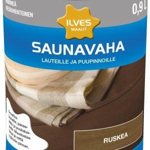 Ilves Saunavaha Ruskea