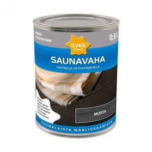 Ilves Saunavaha väritön Musta