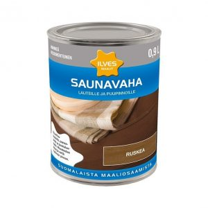 Ilves Saunavaha väritön Ruskea